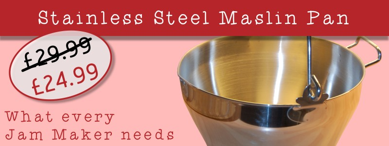 stainless steel 9l litre maslin pan - what ever jam maker needs