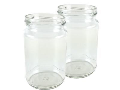 Buy Round Jam Jars from Love Jars