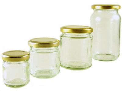 Buy Round Jars from Love Jars