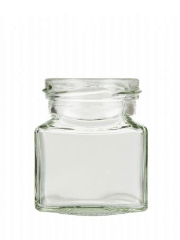 """""""Buy Jam Jars Square Glass 130ml from Love Jars"""""""
