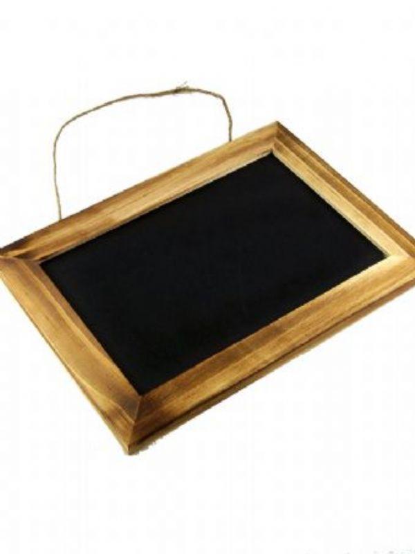 """""""Buy Blackboard Wooden Framed 10x7"""