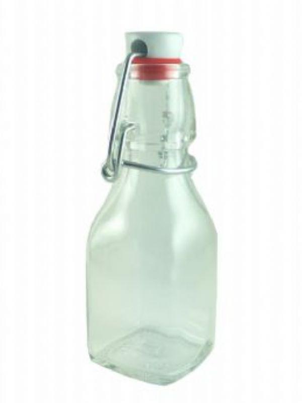 """Buy Glass Swing Top Bottle Bambino 125 from Love Jars"""