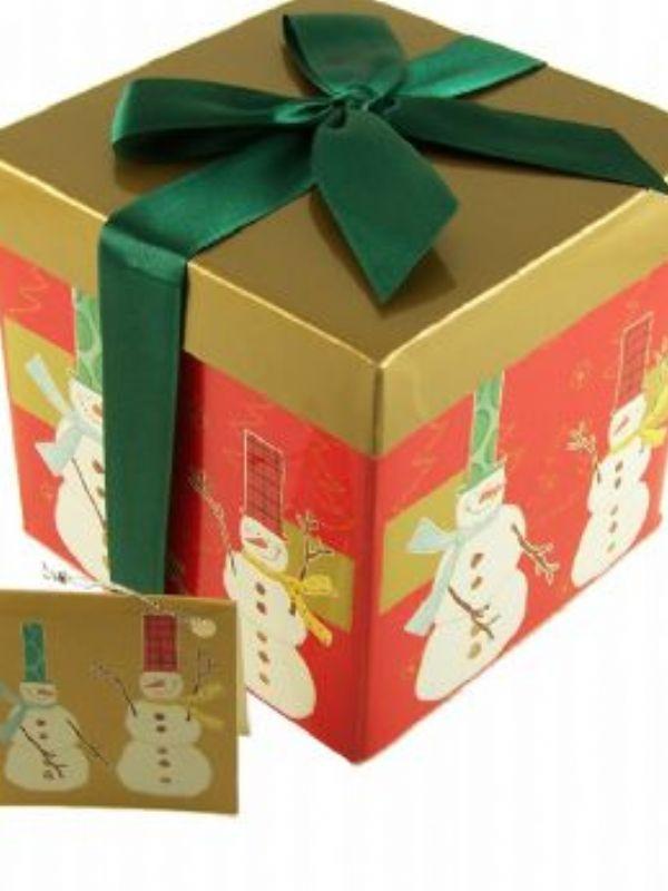"""Buy Gift Box Snowmen small from Love Jars"""