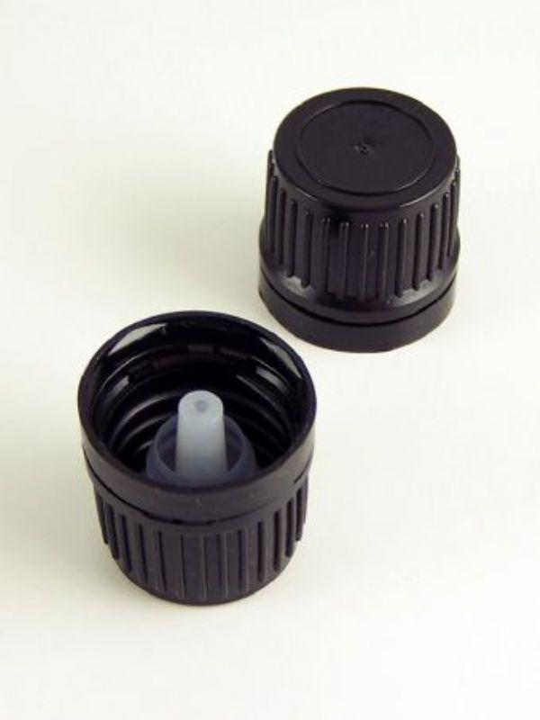"""""""Buy Amber Bottle Cap: 18mm Dropper from Love Jars"""""""