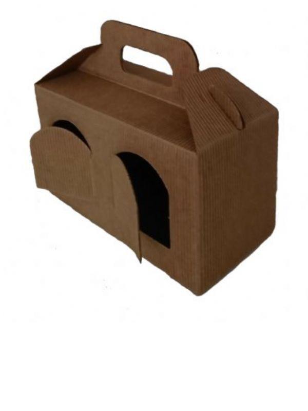 """Buy Carry Box 2 x 8oz jars Kraft from Love Jars"""