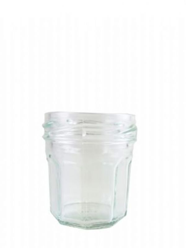 """""""Buy Jam Jars Round Glass Facetted 44ml (154) from Love Jars"""""""