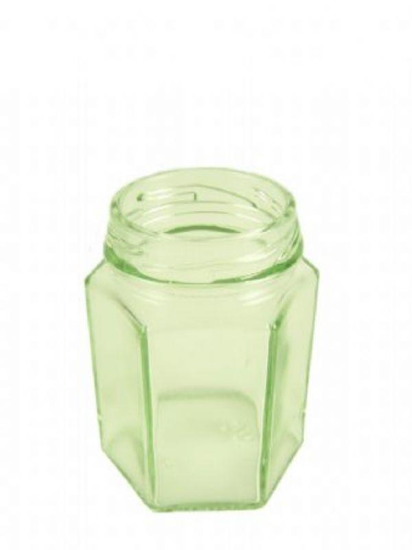 """Buy Jam Jars Hexagonal Glass 4oz/110ml from Love Jars"""