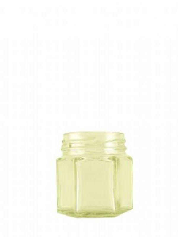 """Buy Jam Jars Hexagonal Glass 45ml (234) from Love Jars"""