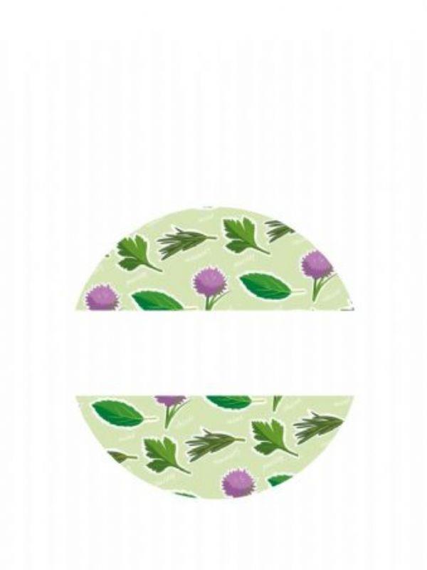 """""""Buy Lid Labels 40mm Garden Herbs from Love Jars"""""""