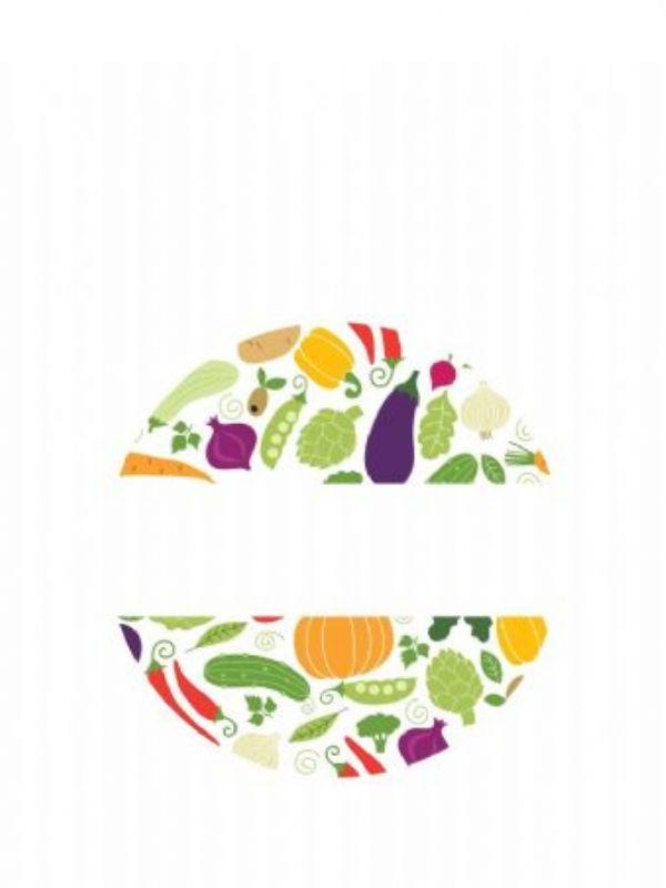 """Buy Lid Labels 40mm Summer Vegetables from Love Jars"""