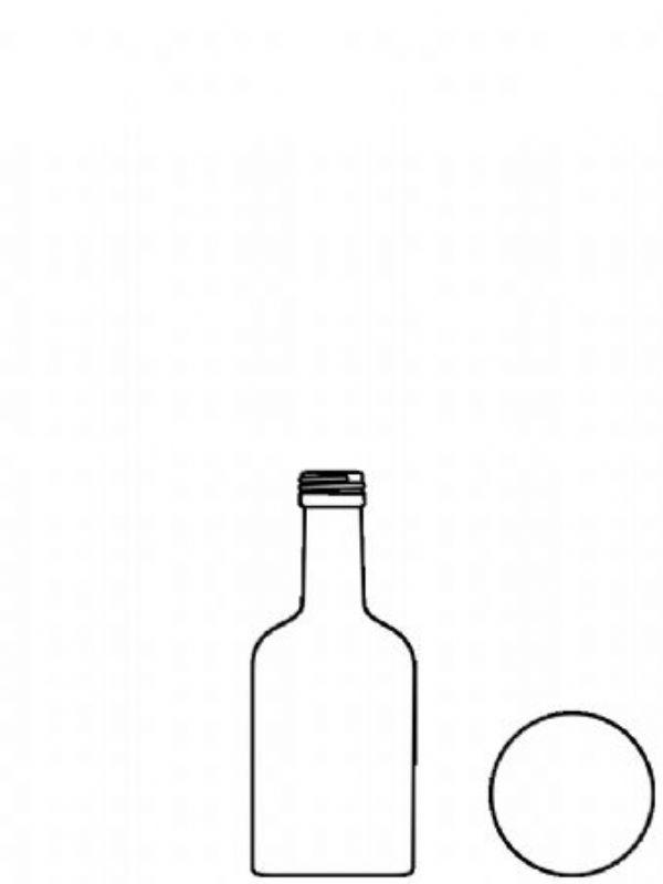 """Buy Glass Bottle Arrenzo 50ml from Love Jars"""