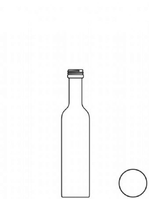 """Buy Glass Bottle Serranto 100ml from Love Jars"""