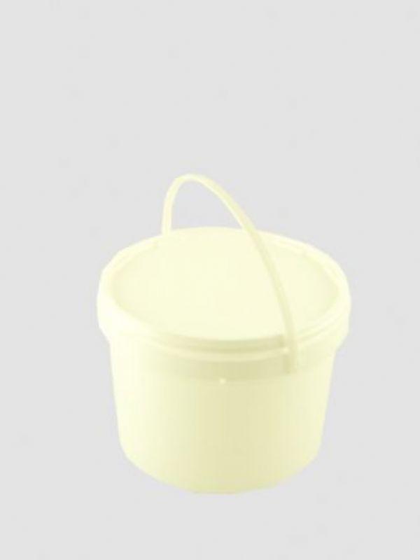 """Buy Plastic Pail 1000ml White from Love Jars"""