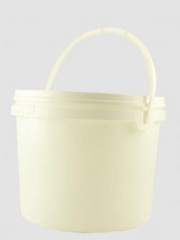 """Buy Plastic Pail 5000ml White from Love Jars"""