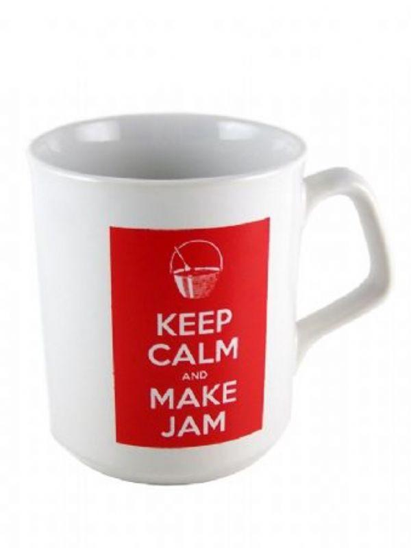 """Buy Mug Keep Calm and Make Jam from Love Jars"""