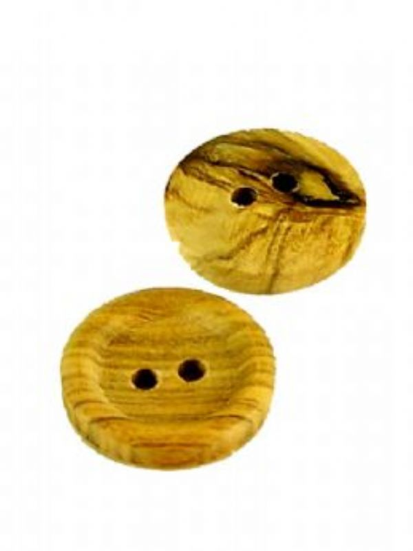 """""""Buy Round Wooden Button from Love Jars"""""""