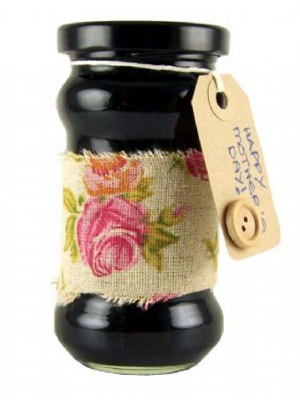 """Buy Jar Wraps - Fabric Rose Print 50cm from Love Jars"""