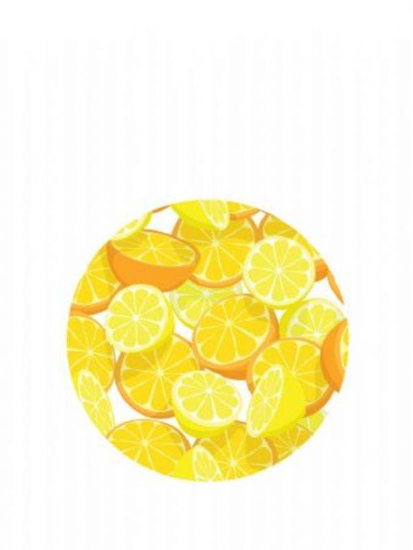 """""""Buy Lid Topper 40mm Orange & Lemon from Love Jars"""""""