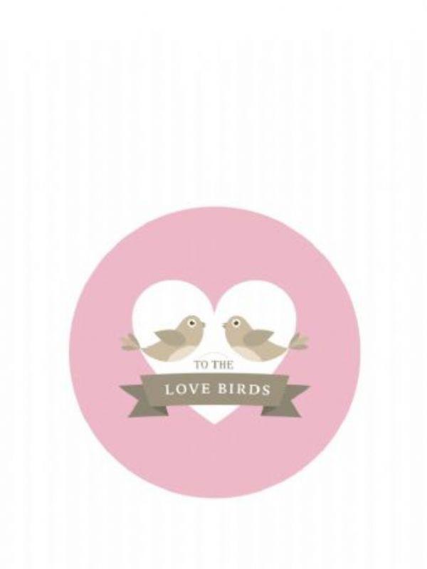 """Buy Lid Topper 40mm Wedding Belles from Love Jars"""