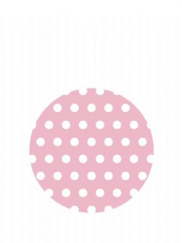 """""""Buy Lid Topper 40mm Pink Spot from Love Jars"""""""