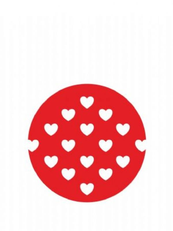 """""""Buy Lid Topper 40mm Red Hearts from Love Jars"""""""