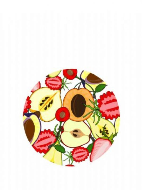 """""""Buy Lid Topper 40mm Summer Fruits from Love Jars"""""""