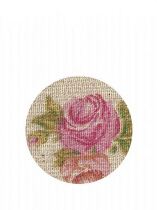 """""""Buy Lid Topper 40mm Vintage Rose from Love Jars"""""""