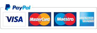 credit and debit card payments securely processed by pay pal